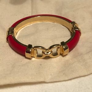 Macy's Red/Gold Bangle